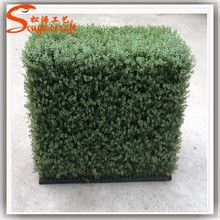plastic hedge hedge garden fence customized metal leg look natural