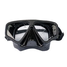 Custom Silicone Black Adult Swim Goggles