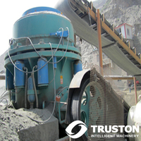 140 to 250 tph Multi-cylinder Hydraulic Standard Head Coarse Type Cone Crushers for Mining