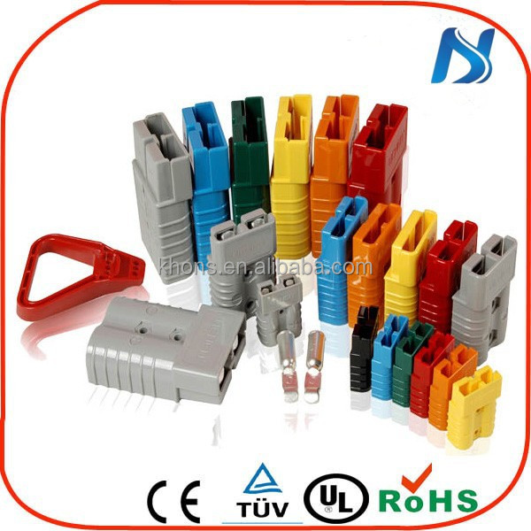 Made in china khons electric 50a 175a 350a 600v power cable multipole low voltage colored quick connectors