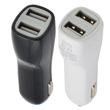 Wholesale 2.1A Duck Mouse USB Car Charger For ipad/iphone/HTC/Samsung Galaxy USB Car Charger 100pcs/lot