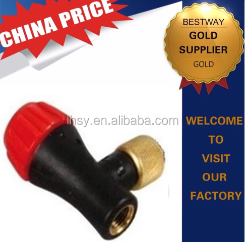 16g co2 cartridge cylinder tire inflator valve
