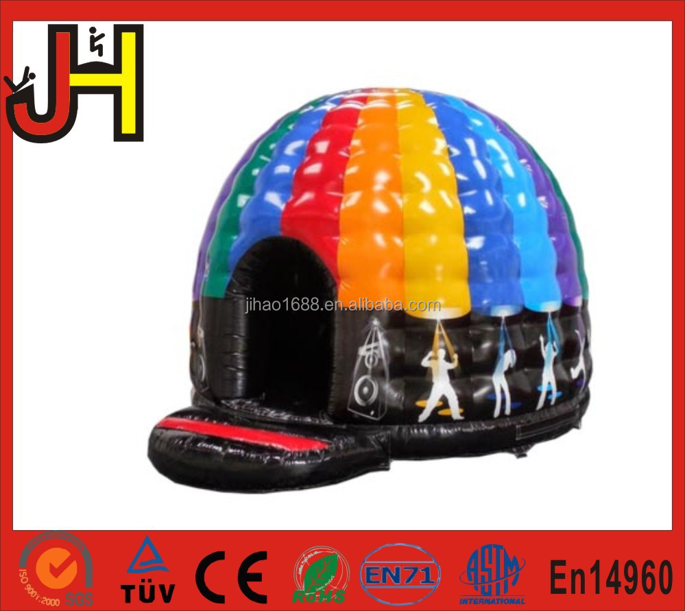 2016 Hot Cheap Inflatable Disco Dome/Inflatable Jumping Bouncer For Sale