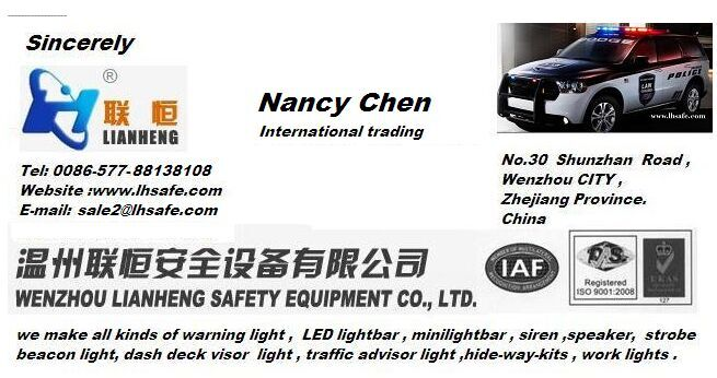 Good quality durable mounting bracket of warning light bars