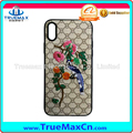 Hot Sale Soft TPU Embroidery Pattern Mobile Phone Case Cover For iPhone 7 8 X