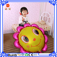 non-toxic cartoon helium music sound balloons with merry christmas music