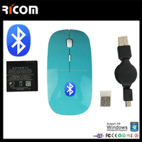 2015 Ricom bluetooth mouse car mouse 2.4g wireless optical mouse driver--MW8003--Shenzhen Ricom