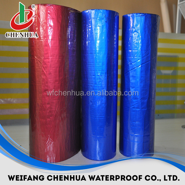 China 1.2mm self-adhesive asphalt membrane supplier