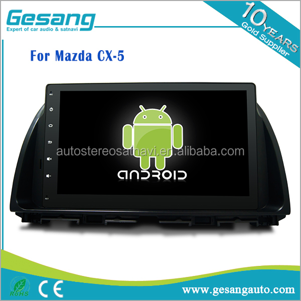 Android 6.0 car dvd player & gps navigation system for Mazda CX-5 with bt, canbus, rds