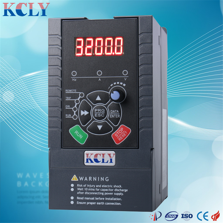 inverter pumps 0.7kw vfd/vsd/ac drives motor single/three phase ac drive2.2kw for fan and water pump inverter manufacturer