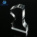 Factory Wholesale Blank Trophy K9 Crystal Glass Plaque for Engraving