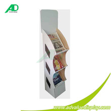 High Quality Cheap Cardboard Greeting Card/ Business Card Display Stand