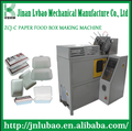 PLC Control Paper Lunch Box Making Machine with small size