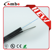FTTH 1,2,4 cores, LSZH\PVC fiber optic drop cable