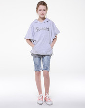 Half Sleeve Hoodies , Children Hoodies , Lightweight Cotton Hoodies