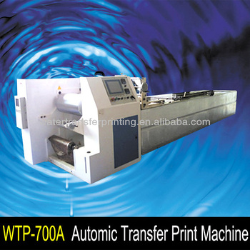 3D decoration Automatic water transfer printing machine save sabour cost length 8m