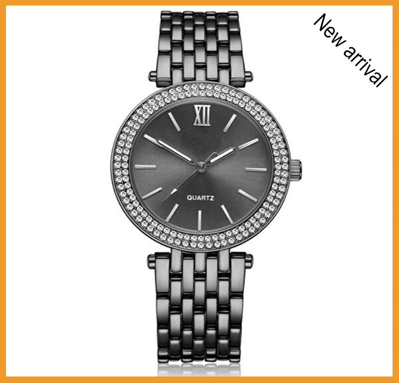 watch manufactuer create your own brand small case stainless steel chain wrist watch