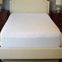 China Manufacturer Wholesale Queen Size Terry Cloth Fitted Bed Sheet