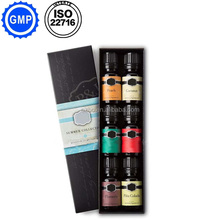 Aromatherapy Top 6 Essential Oils 100% Pure & Therapeutic grade - Fragrance Essential Oils Set