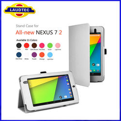 Colorful 7 inch Leather Case for Nexus 7 Tablet Case in 2013 Laudtec