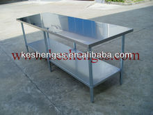 nsf stainless steel work prep table