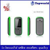1.8 inch big battery promotion mobile phone handset 2 sim cards feature phone China cellphone factory