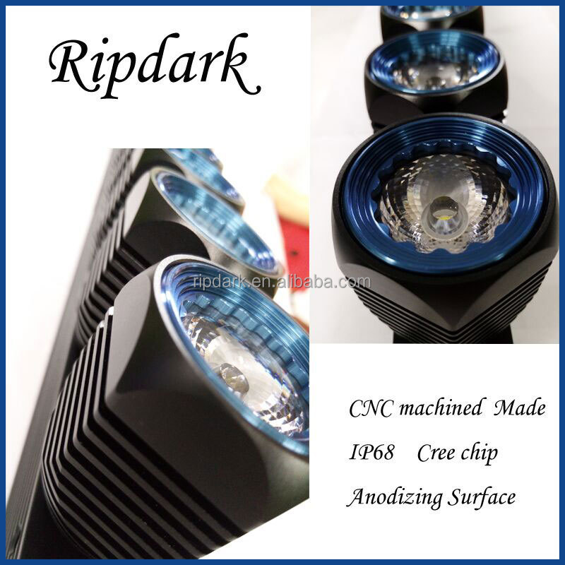 Rip dark High Power high-end DIY LED Driving Lights for 4x4 for Jeep ATV & Offroad certified manufacturer with cree chip