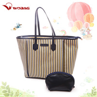 High Quality Large Capacity Shoulder Bag Cotton Material Mummy Diaper Bag