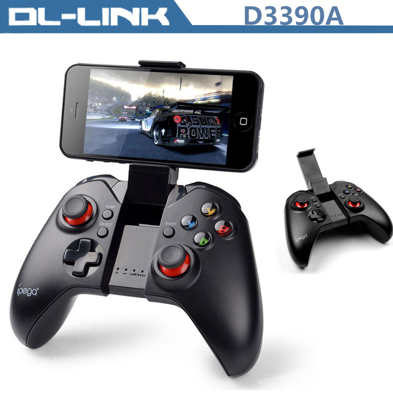 Popular iPega PG-9037 Bluetooth Gaming Controller GamePad Black for Android IOS Smart Phone Samsung Iphone LG