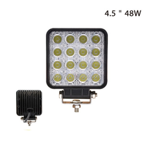 48W 4X4 Car LED Light Bar, Work light for Boat Car Tractor Jeep Truck 4x4 SUV ATV Spot Flood 12V