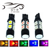 Hot sales T10 194 168 W5W 5050 8+1smd 5W Lens High Power LED Lights License Plate Lamps