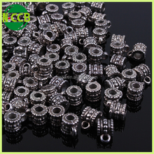 wholesale fashion jewelry custom metal logo beads