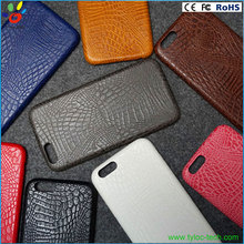 Wholesale imitated cayman skin real leather phone case for iphone 6 6s