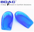 unisex TPE gel heel care insole as heel cushion correction insoles for bowlegs