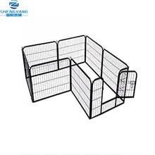 foldable black 80 X 80 Cm heavy duty dog pet puppy metal playpen play pen rabbit pig hutch run enclosure