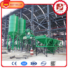 ISO certified hzs concrete batching station, sand/ cement / crushed stone concrete mixing plant