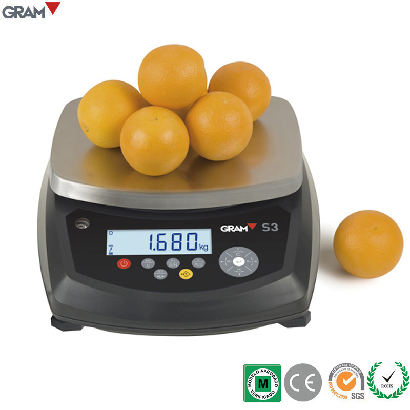 15KG S3-15 Total Protection Weighing Scale Digital <strong>Balance</strong> with Three Digit