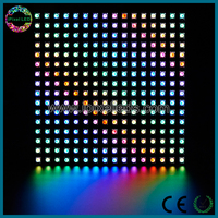 high power magic 10mm 16x16 ws2812b rgb smd 5050 pixel led panel
