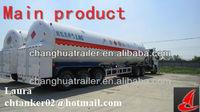 3 axle off road LNG semi trailer