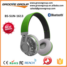 foldable bluetooth headset noise cancelling outdoor bluetooth headphone