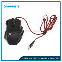 factory price of gaming mouse ,H0T089 mini mouse with retractable cable , noiseless gaming mouse