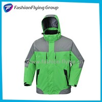 Mens functional nylon waterproof jacket(RM0220BW)