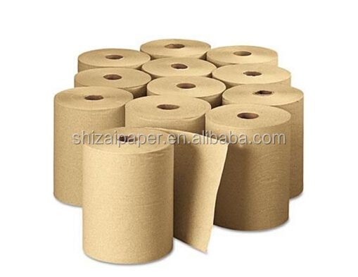 cheapest price Soft Center feed Pull brown hand roll Paper Towels Wholesale