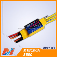 Maytech rc boat ESC 100A brushless water-cooling waterproof for rc watercraft