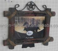 vintage picture frame metal handmade wrought iron craft gifts home decor funny photo frame