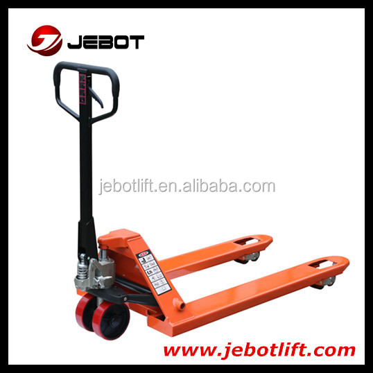 Hot sale good quality 2.5ton manual hydraulic hand pallet truck
