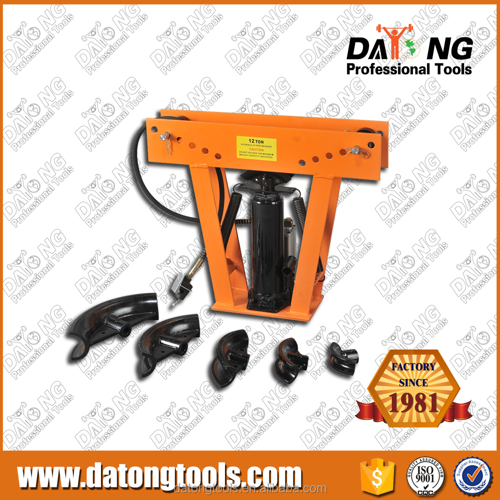 2015 hot selling 12T Pneumatic manual Pipe Bender Sales