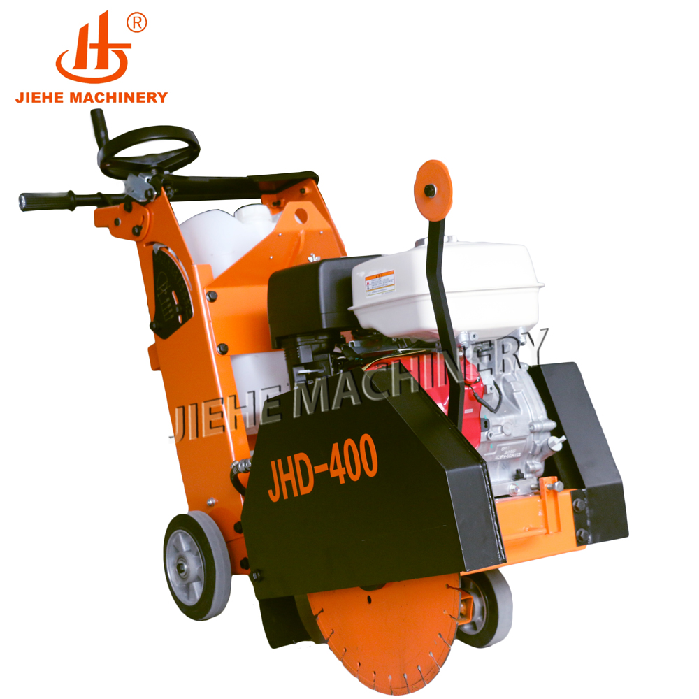 14'' 7HP WALK BEHIND CONCRETE CUT OFF SAW WITH TWO(2) BLADES