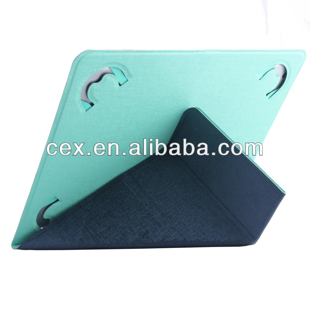 Wholesale - Universal 7 inch 8 inch 9 inch 9.7 inch 10 inch Tablet Leather Flip Case Cover Protective Leather Case Cover