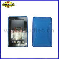 For Amazon Kindle Fire TPU Case,New Arrival Tablet TPU Gel Cover Case for Amazon Kindle Fire,Blue Color,Laudtec